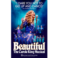 Beautiful Carol King Musical Adlwych Poster